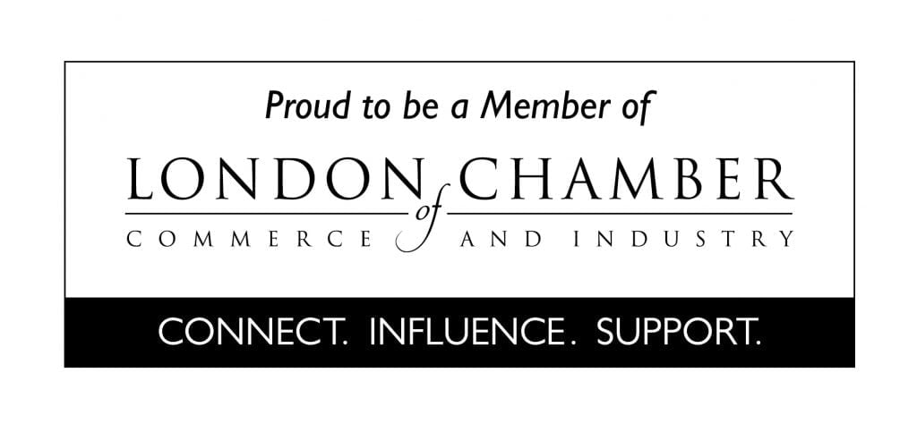 London Chamber of Commerce and Industry member badge